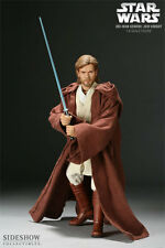 "SIDESHOW EXCLUSIVE STAR WARS OBI-WAN KENOBI JEDI KNIGHT 12"" 1/6 figure"