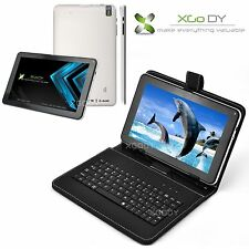 "9"" Android 4.4 KitKat Quad Core Tablet A33 8GB Dual Camera WiFi Bundled Keyboard"