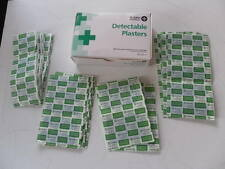 St John Ambulance 100 Assorted Blue Catering Detectable Plasters