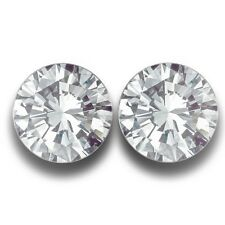 5 MM | Natural White Sapphire Pair From SriLanka| Loose Gemstone-NEW