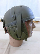 "Us Army ww2 Tank Helmet tanques casco ""Fury"" petrolero Helmet m-1938"