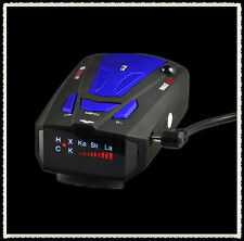 2015 New Anti-Police GPS Radar Detector 16 Band NK Ku Ka VG-2 LED Display Blue C