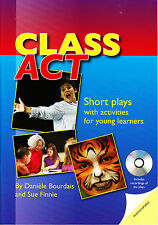 Delta CLASS ACT Short Plays with Activities for Young Learners with Plays CD NEW