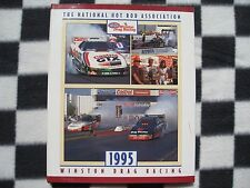 1995 NHRA WINSTON DRAG RACING SERIES LEATHER BOUND COFFEE TABLE EDITION YEARBOOK