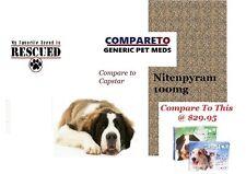 X-LG.DOG 8 DOSES Capstar Flea Pills Generic Flea Control Treatment Remedy
