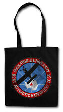 MISKATONIC UNIVERSITY III VINTAGE SHOPPER SHOPPING BAG Lovecraft HP Sign Cthulhu