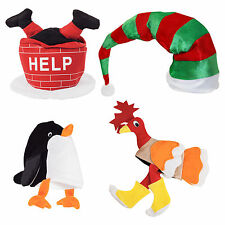 Set of 4 Deluxe Quality Christmas Novelty Hats (Set 2)