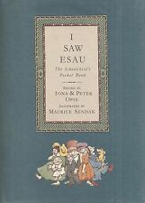 """MAURICE SENDAK """"I Saw Esau"""" SIGNED First Printing of the FIRST EDITION"""