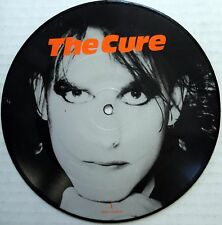 THE CURE 45 Interview PICTURE DISC New Wave VG++ h919