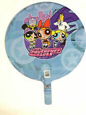 "NEW~POWER PUFF GIRLS -  1- 18"" MYLAR  BALLOON.-2 SIDE PRINT UNPACKAGED-   PARTY"