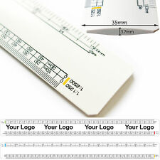 Qty25 32cm Architect Scale Ruler - Personalised/Promotional Branded Custom Logo
