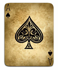 A5 Print - Vintage Playing Card Ace of Spades Gothic Style (Picture Poster Art)