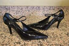 ESCADA Women's Black Patent Leather steel  Heels Size 36 us 6