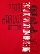 VINTAGE PEARL HARBOR HAWAII PACIFIC AVIATION MUSEUM T SHIRT SMALL