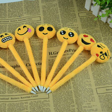 Cute Cartoon Ball Point Pen Ballpoint emoji Creative Stationery Student Gift