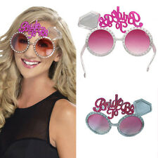 1pc ''Bride To Be'' Novelty Pink Glasses Hen Party Night Accessories Fancy Dress
