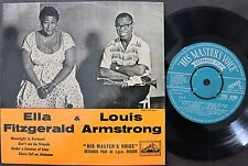 ELLA FITZGERALD & LOUIS ARMSTRONG UK 45 PS 7 HMV 8280 EP *MOONLIGHT IN VERMONT*