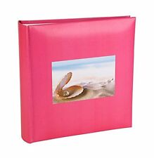 "Shell Series Mother of Pearl Design Memo Photo Album 200 photos 6x4""-HOL113PK"