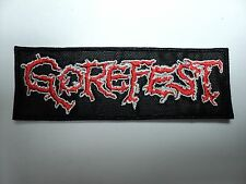 GOREFEST   EMBROIDERED PATCH