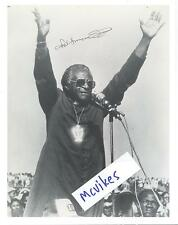 Desmond Tutu Archbishop South Africa Autographed Signed 8x10 Photo Print COA