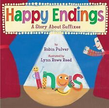 Happy Endings: A Story About Suffixes-ExLibrary