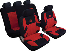 VOLVO S40 S60 S80 C30 C70 Universal Precision Sports Style Car Seat Covers RED