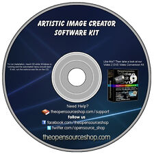 Professional Photo Editor Software Kit Create Images And Edit Drawings