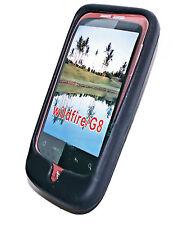Silikon TPU Handy Cover Case Schwarz + Displayschutzfolie für HTC WILDFIRE