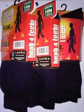 3 Pair Mens Warm Thermal Socks Heavy Duty Heat Control Locker Winter Socks Gents