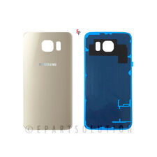 Gold Back Glass Cover Battery Door For Samsung Galaxy S6 G920 Replacement Part