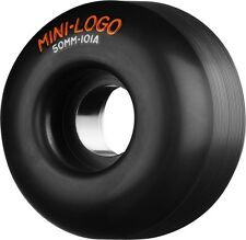 MINI LOGO C-CUT 50mm 101a BLACK Skateboard Wheels