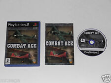COMBAT ACE for PLAYSTATION 2 'VERY RARE & HARD TO FIND'