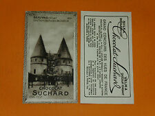 CHROMO PHOTO CHOCOLAT SUCHARD 1928 FRANCE BEAUVAIS TOURS PALAIS JUSTICE OISE