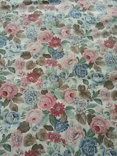 Vintage Arthur Sanderson floral large pair of curtains 94w x 60d inches each