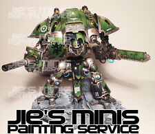Warhammer 40k Imperial Knight pro painted & Magnetized commission
