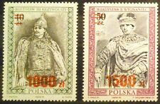 POLAND-STAMPS MNH Fi3167-68 Sc3016-17 Mi3315-16 -Polish Kings,1991, clean