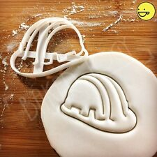 Safety Helmet cookie cutter | Suitable for building construction themed party