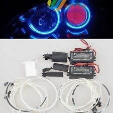 For Mazda 3 Sedan Hatchback 2004-2008 4pcs Blue LIGHT CCFL ANGEL EYE HALO RING
