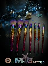 The orginal mermaid makeup brushes for pre order. Set of 12.  Trial price