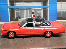1974 Dodge Monaco CHICAGO FIRE DEPARTMENT RARE 1:64 LIMITED EDITION DIECAST CAR