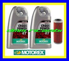 Kit Tagliando KTM SX ECX 505 08 09 + Olio MOTOREX Cross Power 10W/50 2008 2009