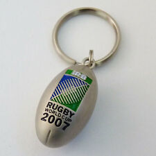 Rugby World Cup 2007 Metal Ball Key Ring
