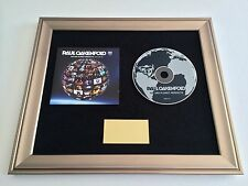 SIGNED/AUTOGRAPHED PAUL OAKENFOLD - WE ARE PLANET PERFECTO CD PRESENTATION