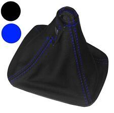 Soufflet de levier de vitesse couture bleu en 100% CUIR véritable pour BMW Z3