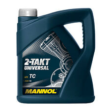 2-Takt Öl UNIVERSAL mineralisch Zweitakt Öl Zweitaktöl Moped Gartengeräte 4 L.