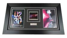 U2 FILM CELL ORIGINAL IMAX 70MM U2 3D BONO EDGE Framed GIFTS MUSIC MEMORABILIA