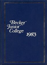 Becker Junior College (Leicester, MA) ORIGINAL 1983 yearbook history
