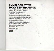 (DI503) Animal Collective, Today's Supernatural - 2012 DJ CD