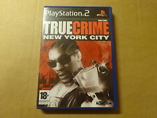 PS2 GAME / TRUE CRIME: NEW YORK CITY (PLAYSTATION)