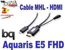 CABLE MHL HDMI PARA SMARTPHONE BQ AQUARIS E5 FHD Fnac phablet 2 5 FHD